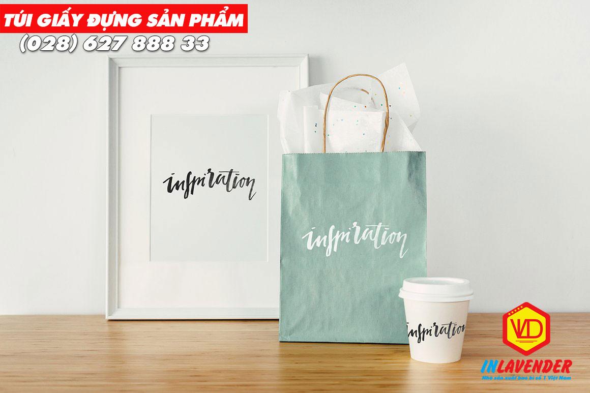 Túi giấy đựng sản phẩm đẹp