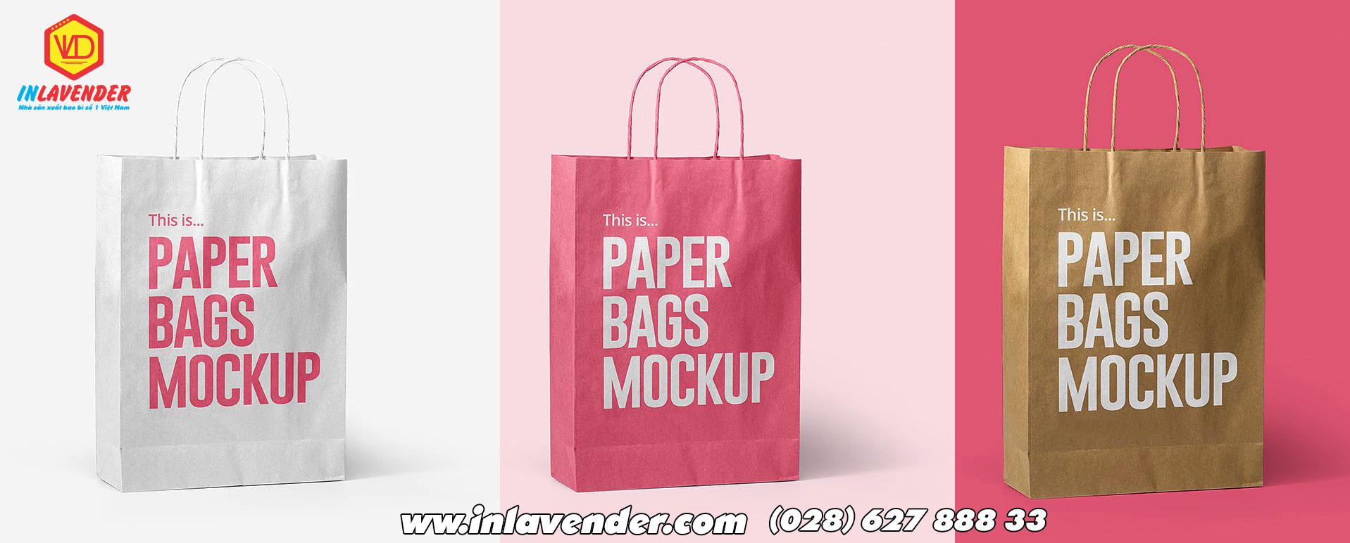 Thiết kế mẫu túi giấy đẹp