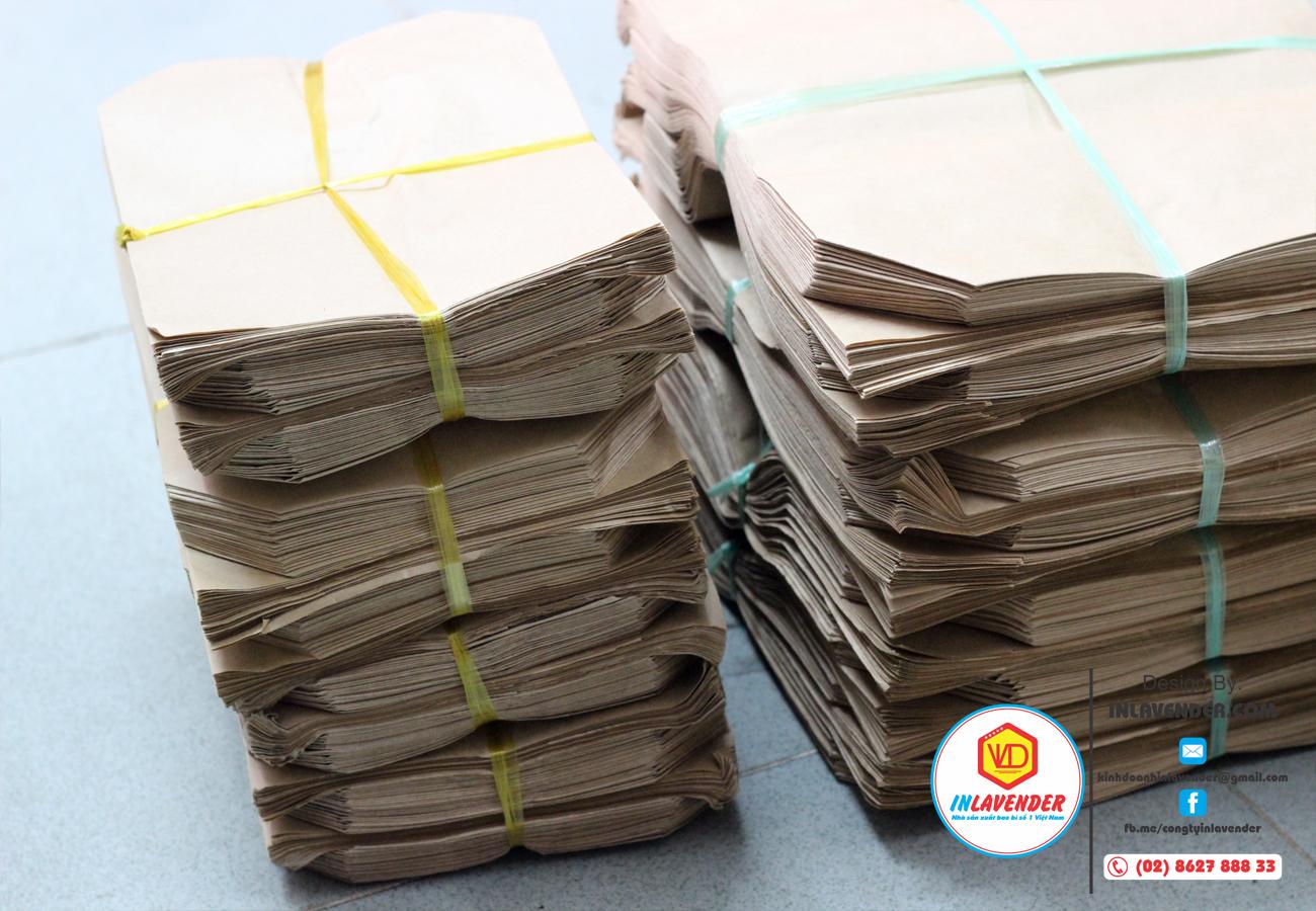 Túi giấy xi măng gói hàng online