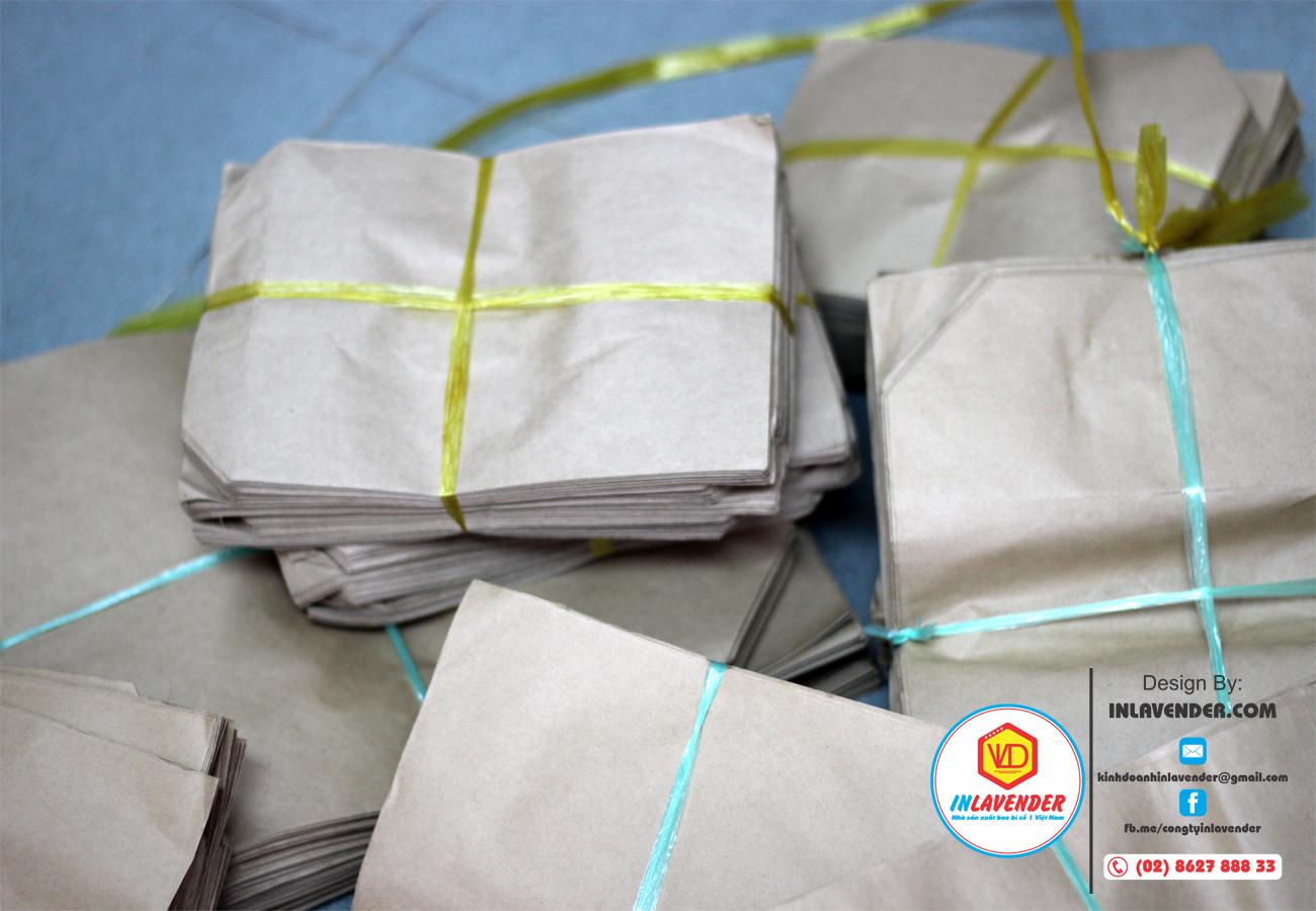 Xưởng làm túi giấy xi măng gói hàng