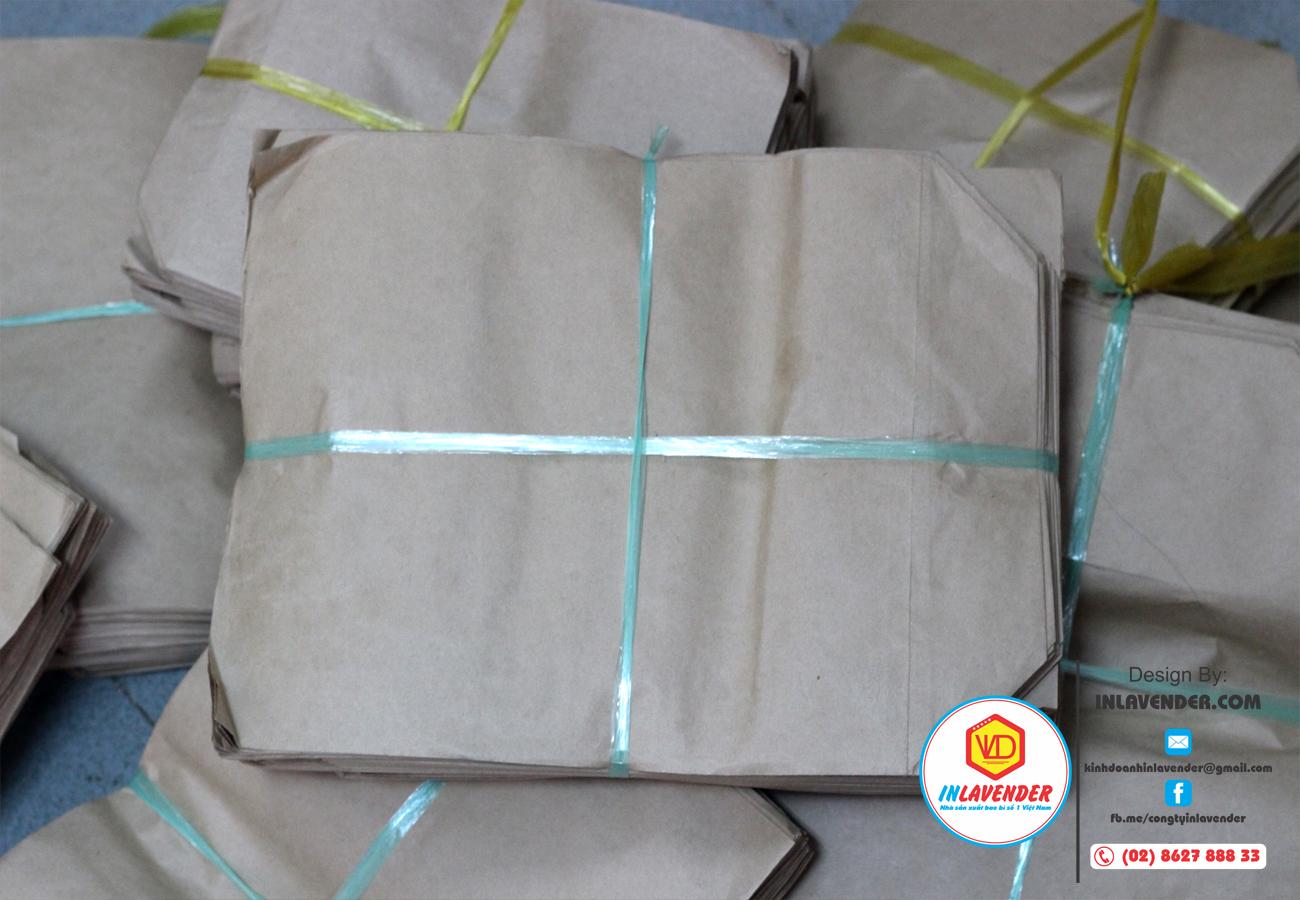 Túi gói hàng túi giấy Kraft